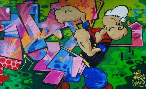 Popeye and cannabis
